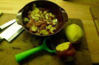 6.6.16 - Zitronenkartoffeln,Forelle,Salat (5)