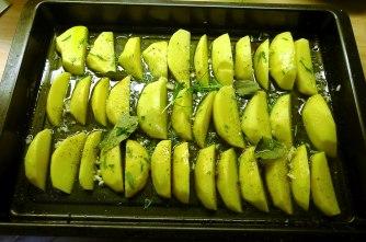 6.6.16 - Zitronenkartoffeln,Forelle,Salat (6)