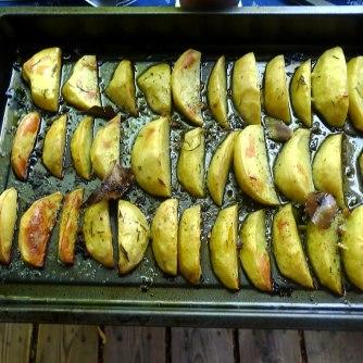 6.6.16 - Zitronenkartoffeln,Forelle,Salat (9)