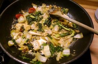 7.6.16 - Pak Choi,Zucchini,Nudeln (9b)
