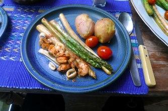8.6.16 - Spargel,Meeresfrüchte,pescetarisch (11)