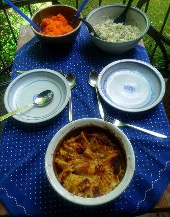 11.7.16 - Kartoffelkgratin,Salate,vegetarisch (10)