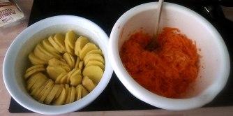 11.7.16 - Kartoffelkgratin,Salate,vegetarisch (6)