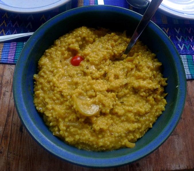 Graupen Risotto,Salat (6)