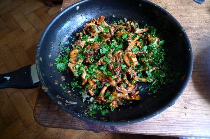 Pfifferlinge,Kartoffel,Rührei (3) - Kopie