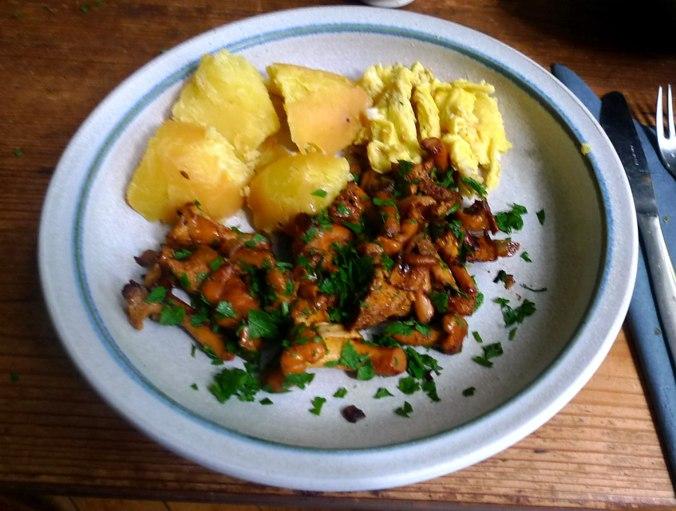 Pfifferlinge,Kartoffel,Rührei (6).JPG