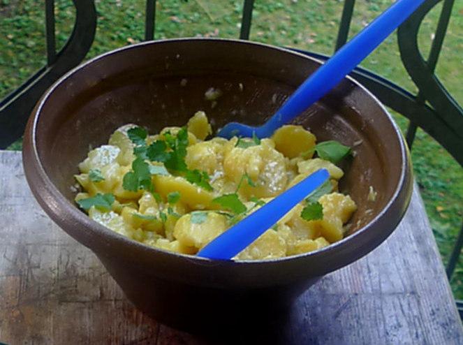 Schwäbischer Kartoffelsalat,Rührei1 (2)