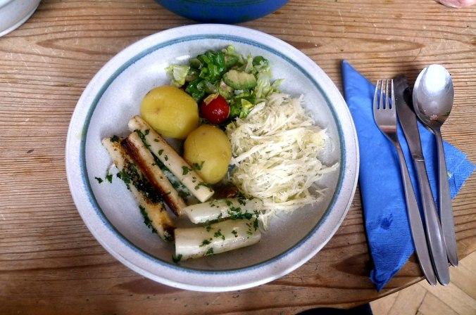 Schwarzwurzel,Römersalat,Rettichsalat,Kartoffeln  (1).JPG