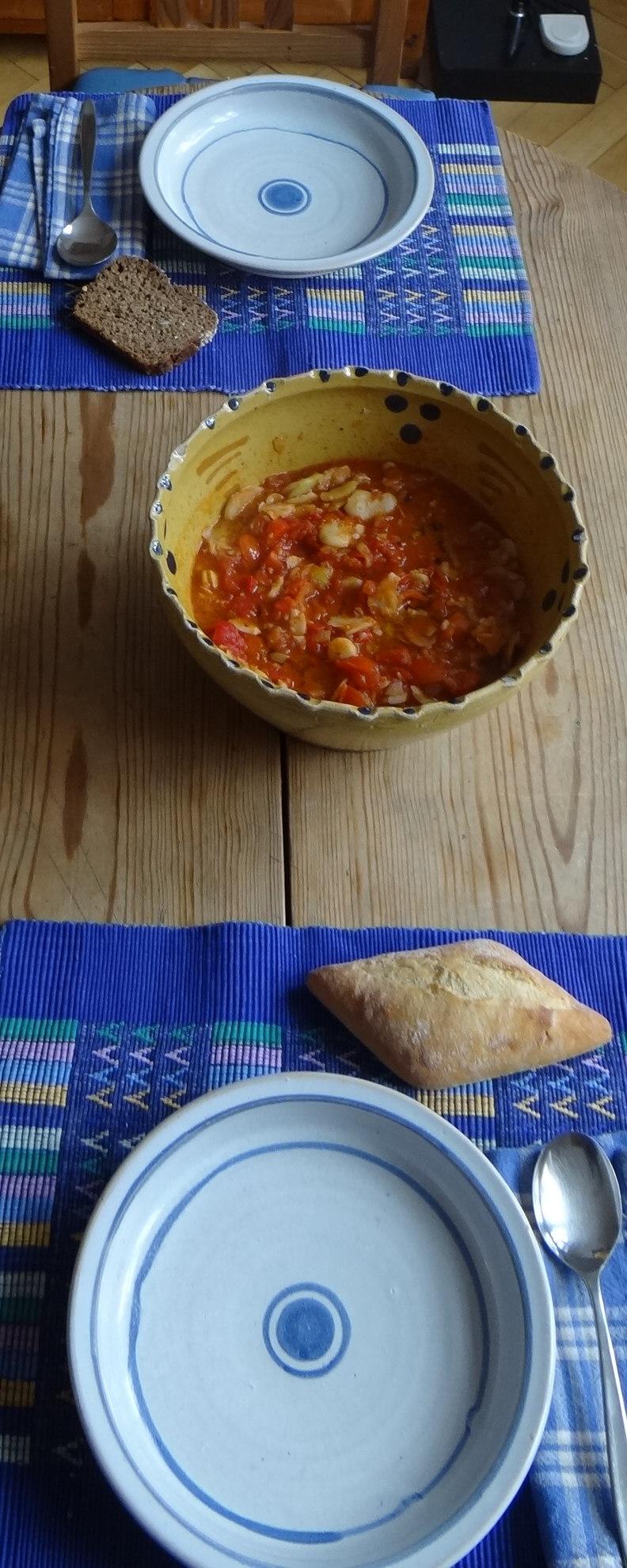 Bohnen in Tomaten (1b)