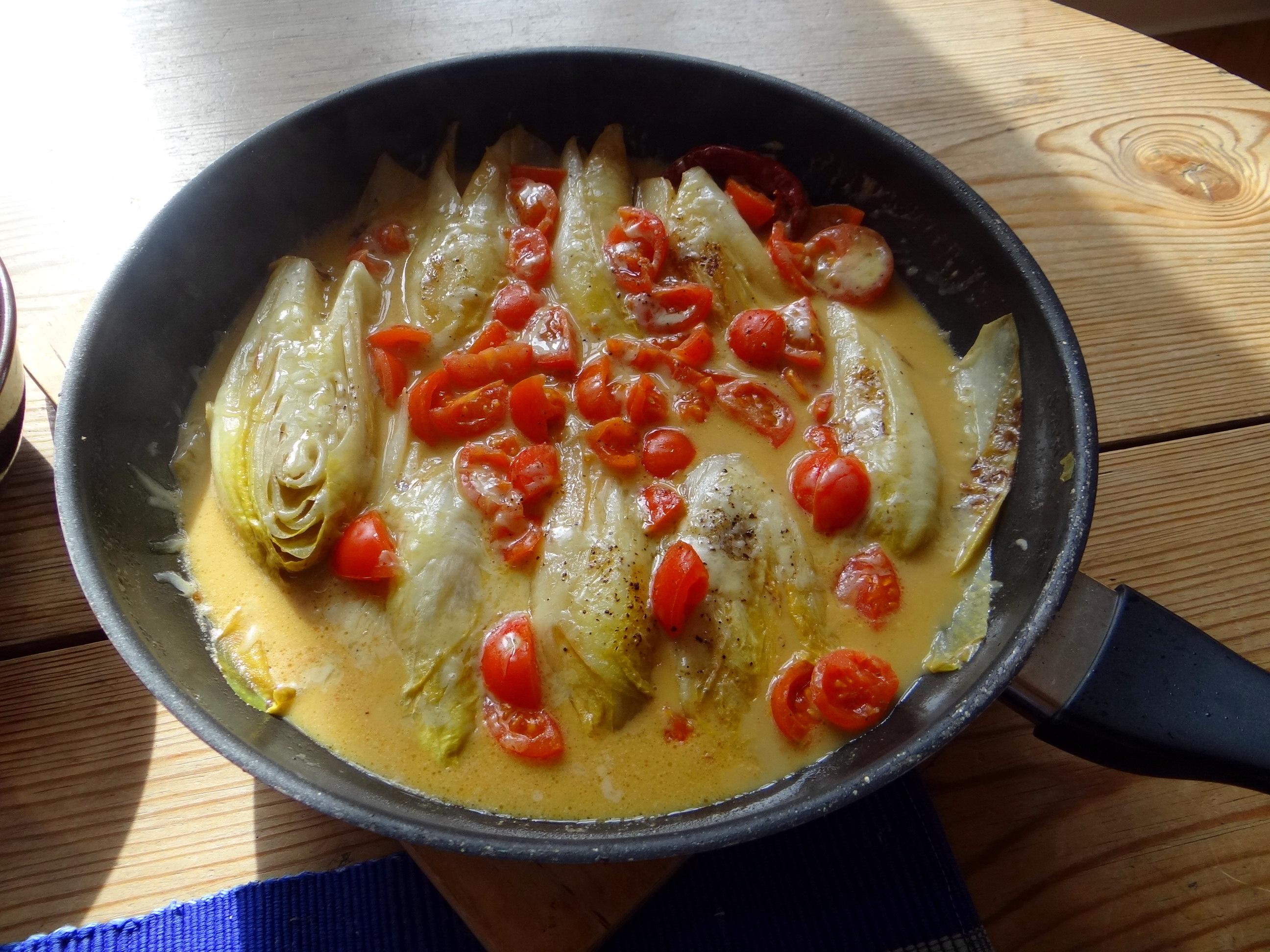 Gedämpfter Chicoree,Quinoa (14)