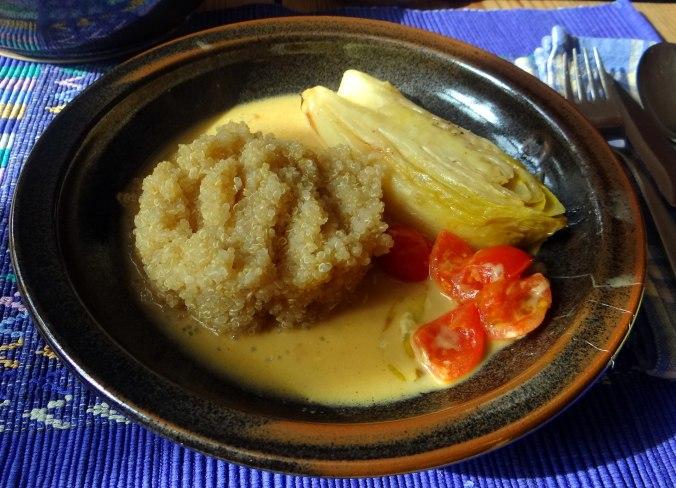 Gedämpfter Chicoree,Quinoa (16)