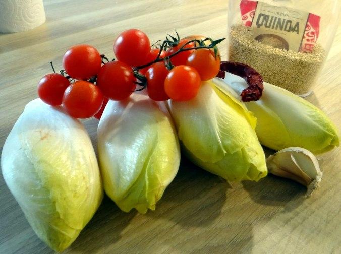 Gedämpfter Chicoree,Quinoa (5)