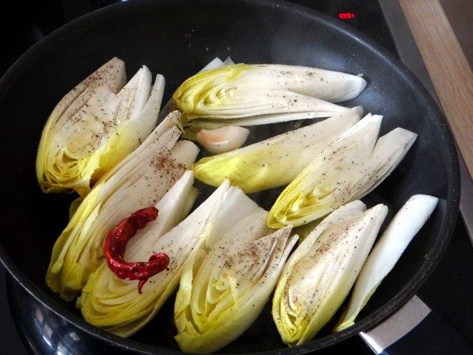 Gedämpfter Chicoree,Quinoa (8)