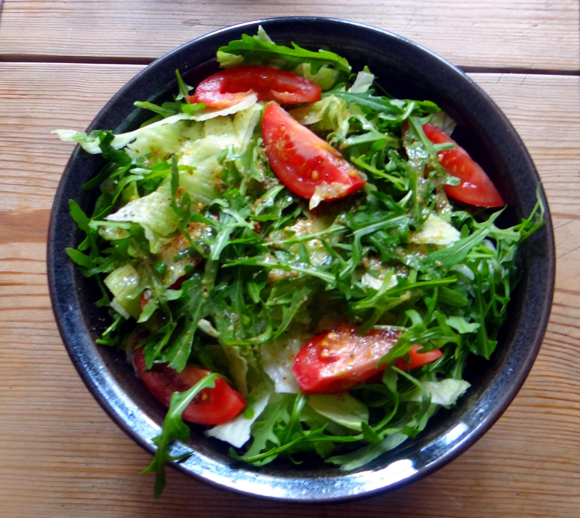 Muschelnudeln,Gorgonzolasauce,Salate (7)