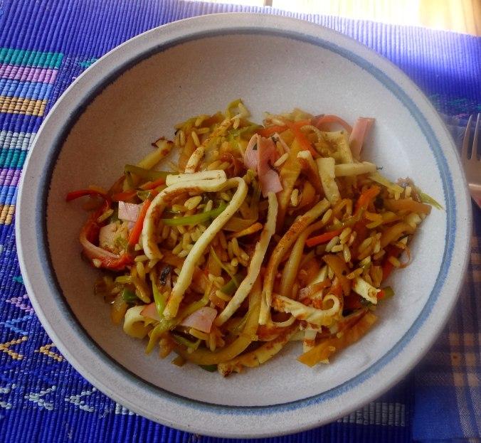 Nasi Goreng,Himbeer Quark (1)