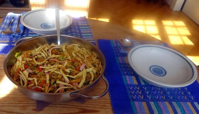 Nasi Goreng,Himbeer Quark (2)