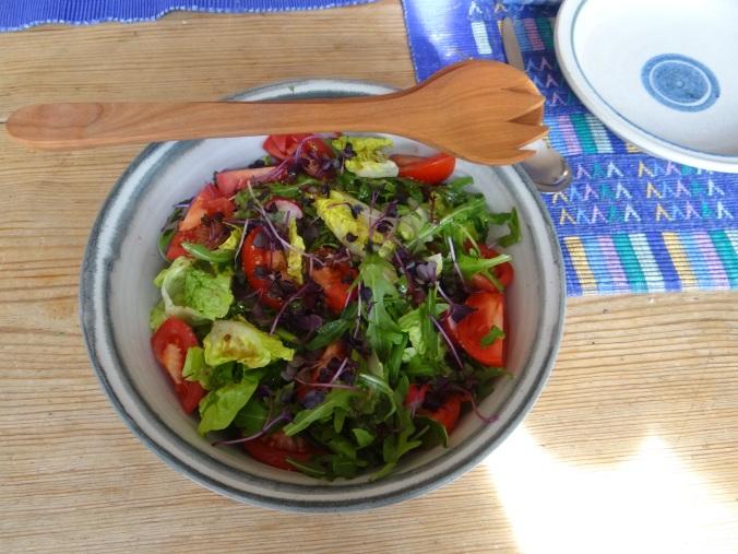 Pastinaken-Kartoffelstampf,Bleichsellerie Gemüse,Salat,Spiegelei (17)