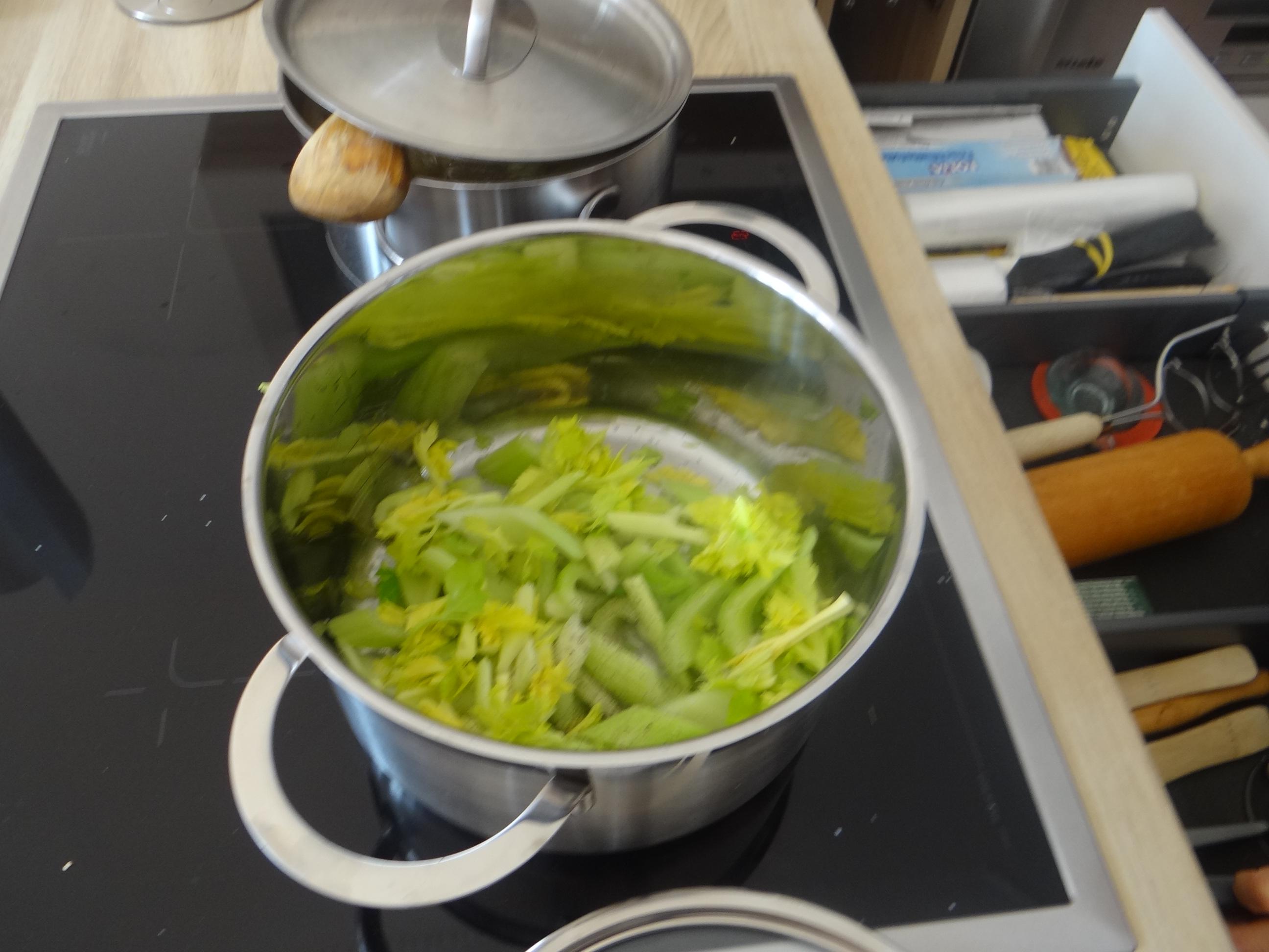 Pastinaken-Kartoffelstampf,Bleichsellerie Gemüse,Salat,Spiegelei (8)