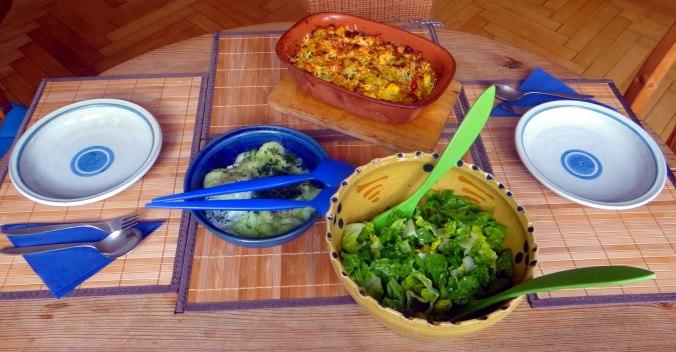 Resteessen,Gurkensalat,Romasalat (4)