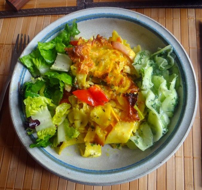 Resteessen,Gurkensalat,Romasalat (8)