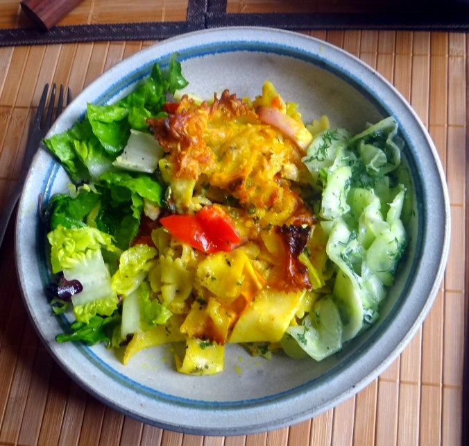 Resteessen,Gurkensalat,Romasalat (9)