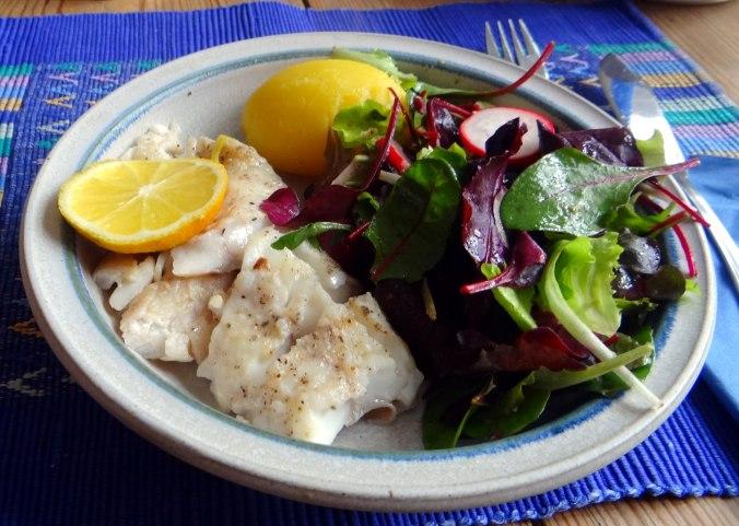 Rotbarsch,Pflücksalat,Pellkartoffeln (5)