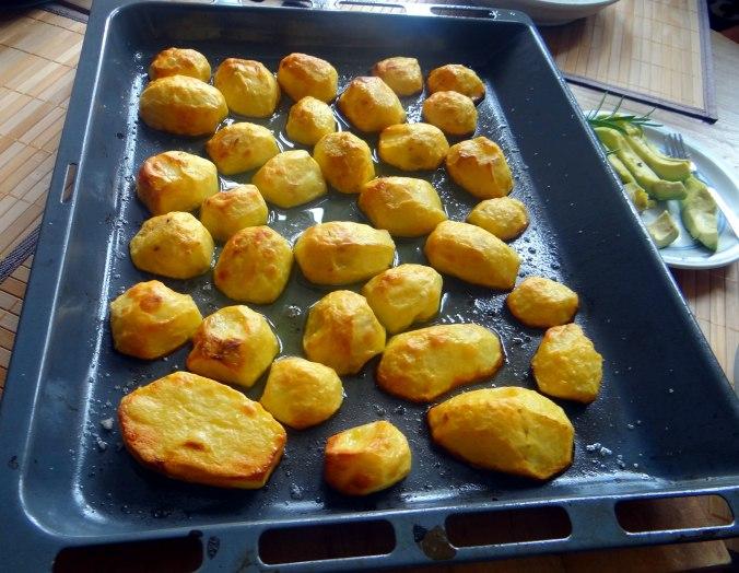 Rote Beete Gemüse,Ofenkartoffel,Fenchelsalat, (9)