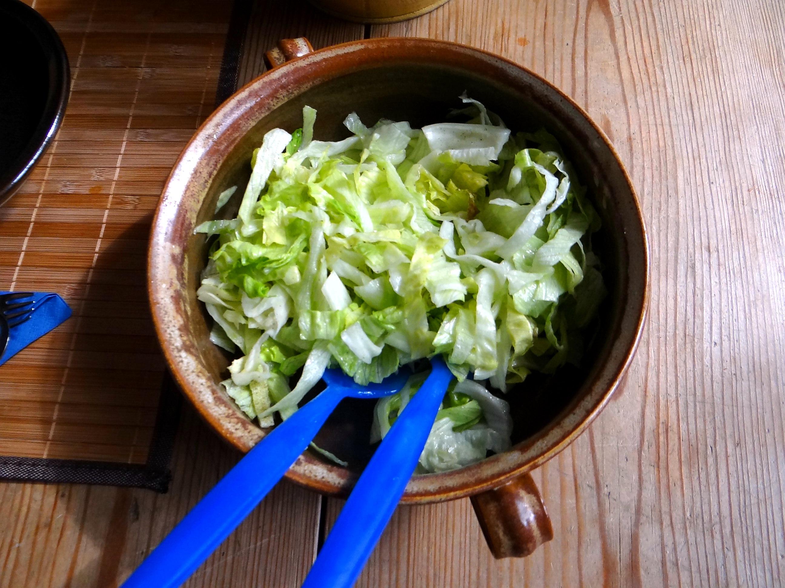 Bohnen,Thunfisch,Sellerie Salat (12)