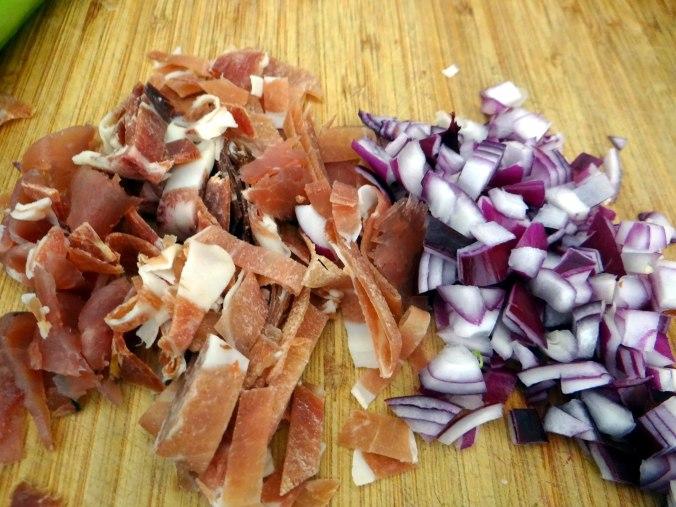 Buchweizen Spirelli,Pimientos,Gurkensalat (5)
