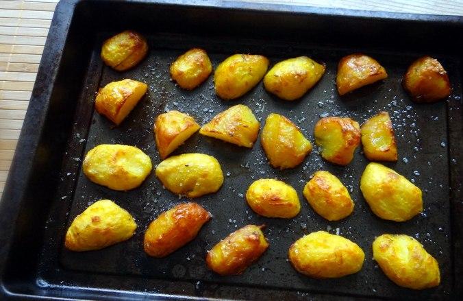 Gebackener Feta,Ofenkartoffel,Pimientos,Gurkensalat,Walleln (11)