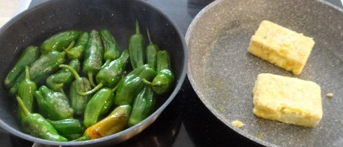 Gebackener Feta,Ofenkartoffel,Pimientos,Gurkensalat,Walleln (9)