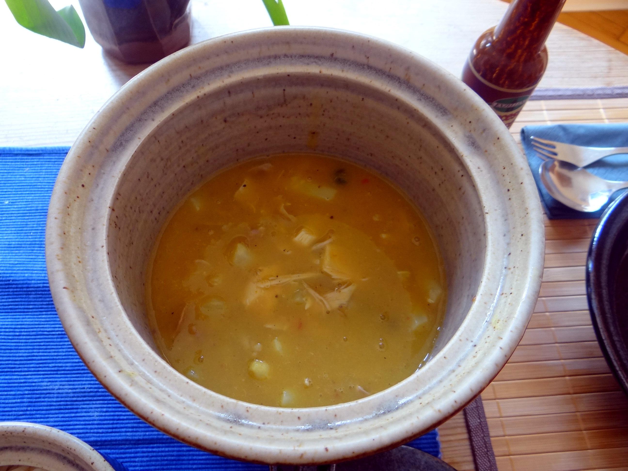 Hühnerfrikassee,Reis (25)