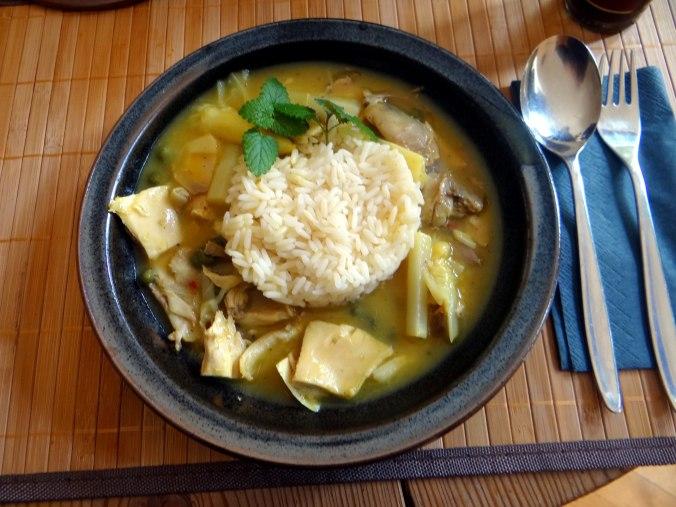 Hühnerfrikassee,Reis (26)
