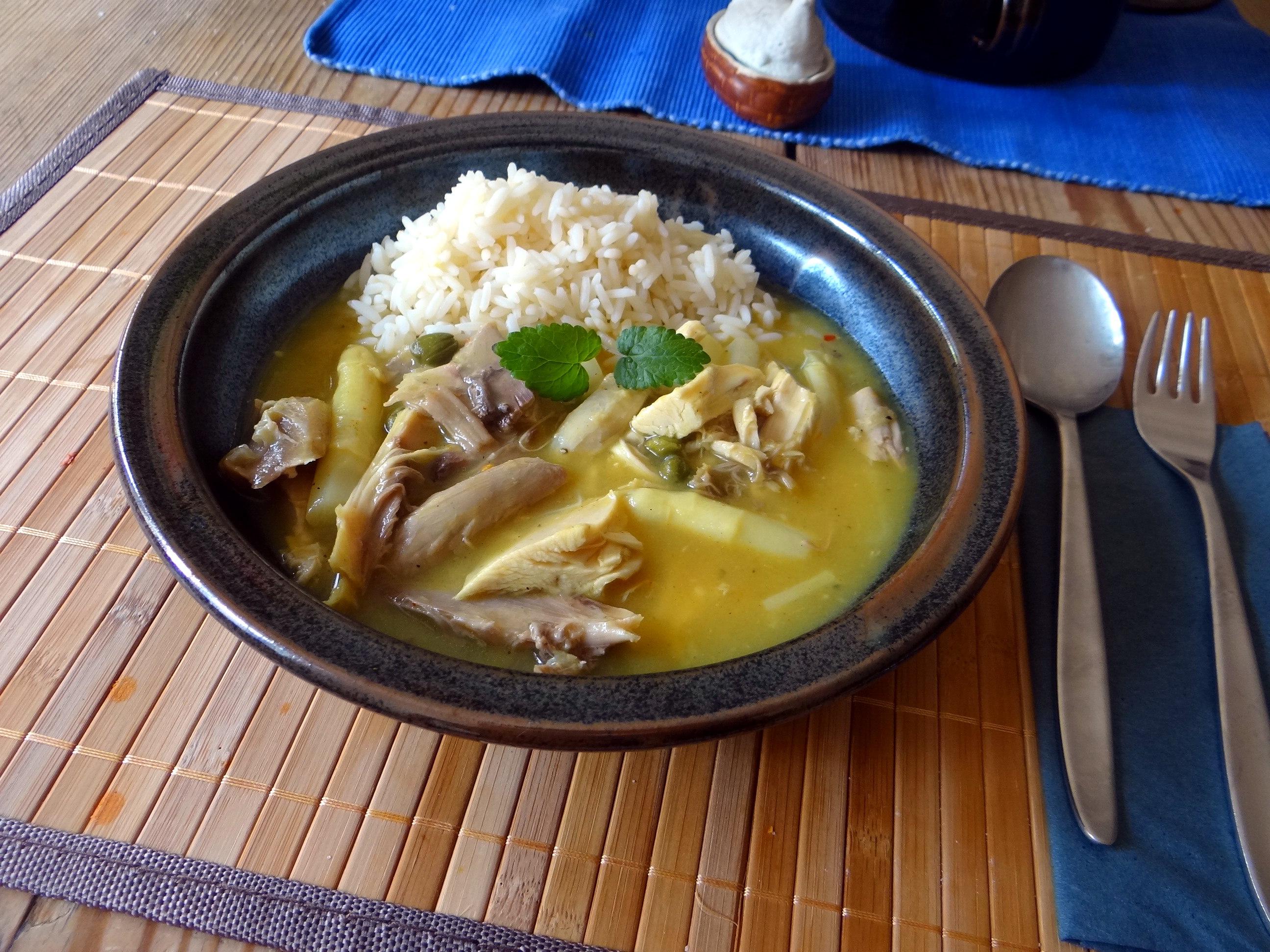 Hühnerfrikassee,Reis (27)