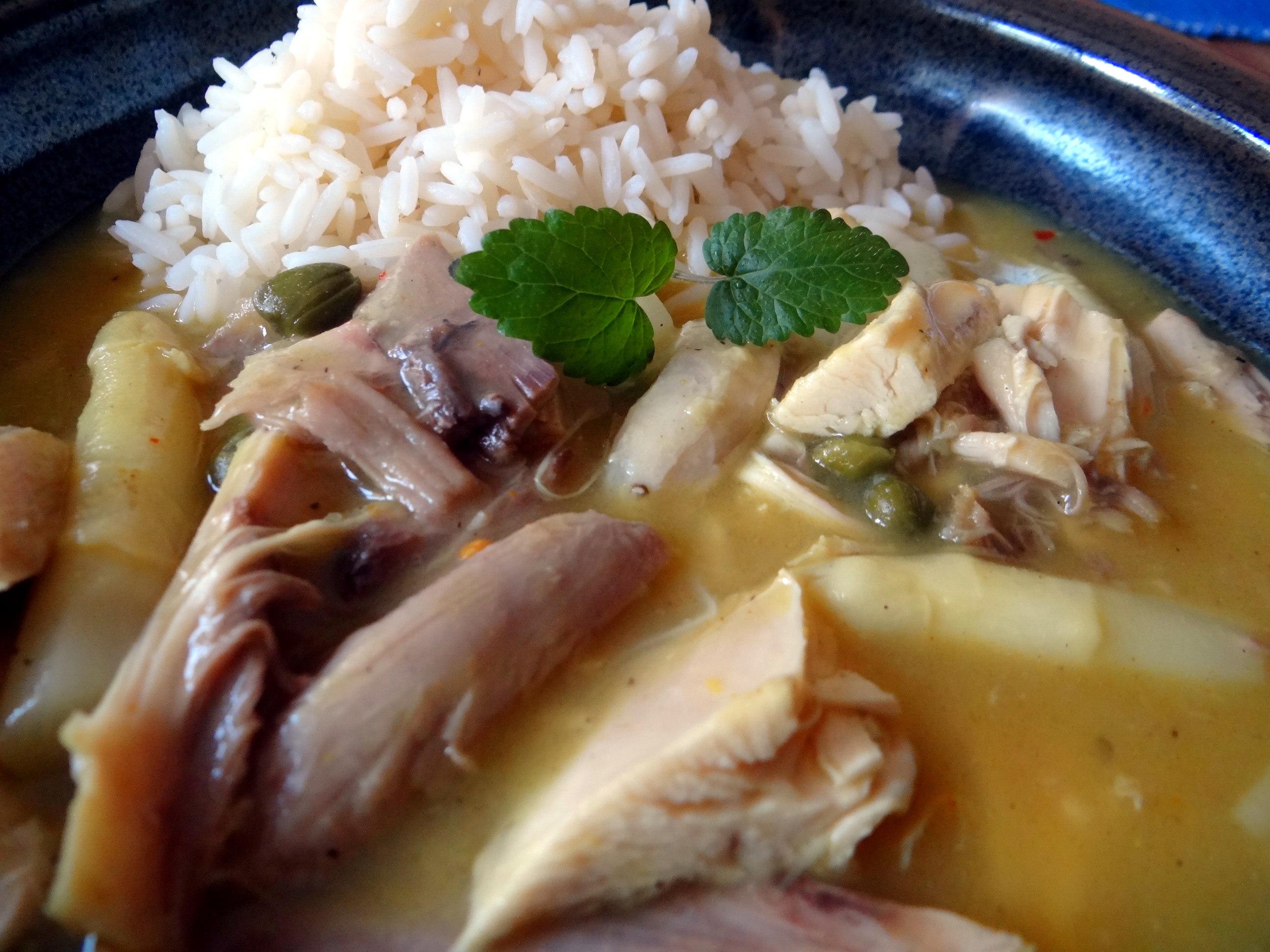 Hühnerfrikassee,Reis (28)