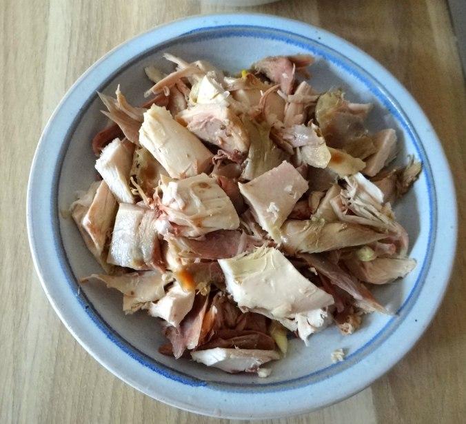 Hühnerfrikassee,Reis (9)