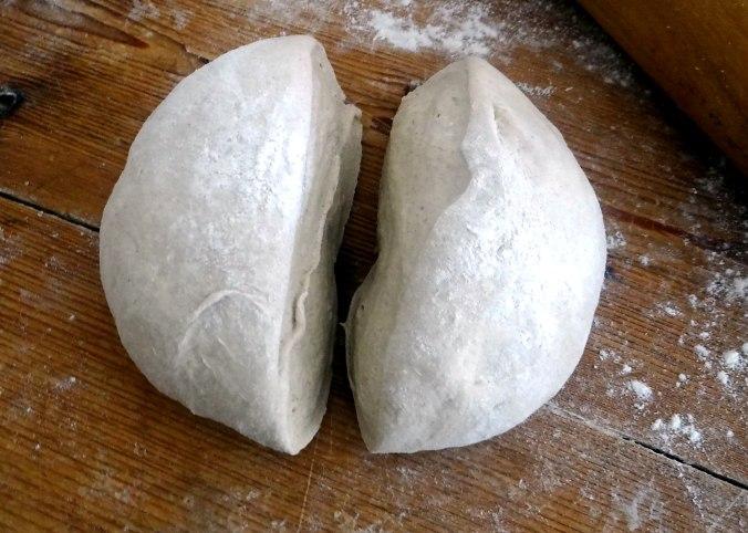 Brennessel Pizza- Quiche-Tarte,Tomatensalat(6)