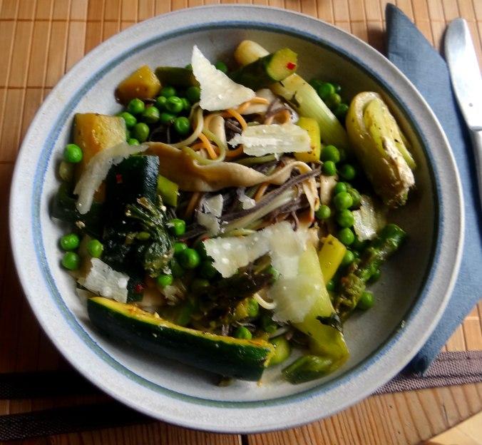 Gemüse Allerlei,Nudel Mix,vegetarisch (1)