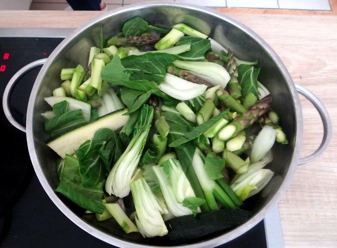 Gemüse Allerlei,Nudel Mix,vegetarisch (10)