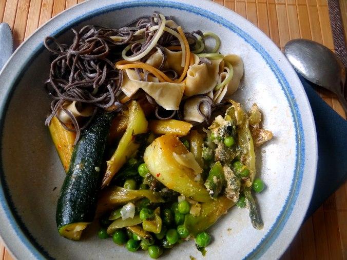Gemüse Allerlei,Nudel Mix,vegetarisch (18)