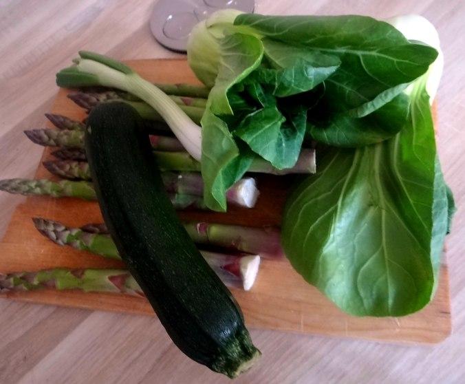 Gemüse Allerlei,Nudel Mix,vegetarisch (5)