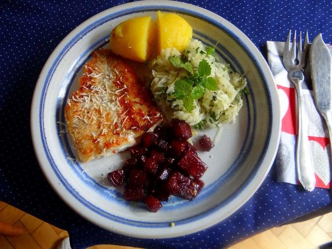 Kabelja,Rote Beete Gemüse,Kohlrabisalat,Pellkartoffel (11)