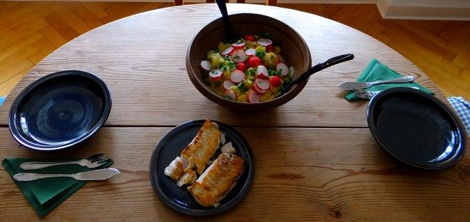 Kabeljau,Schwäbischer Kartoffelsalat (14)