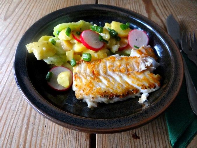 Kabeljau,Schwäbischer Kartoffelsalat (15)