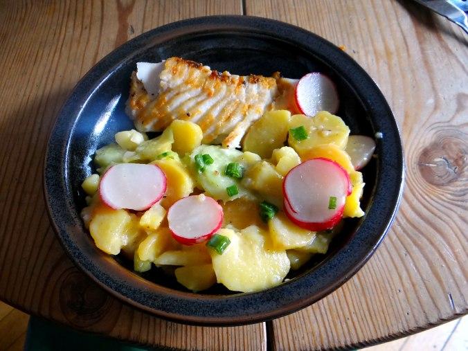 Kabeljau,Schwäbischer Kartoffelsalat (16)