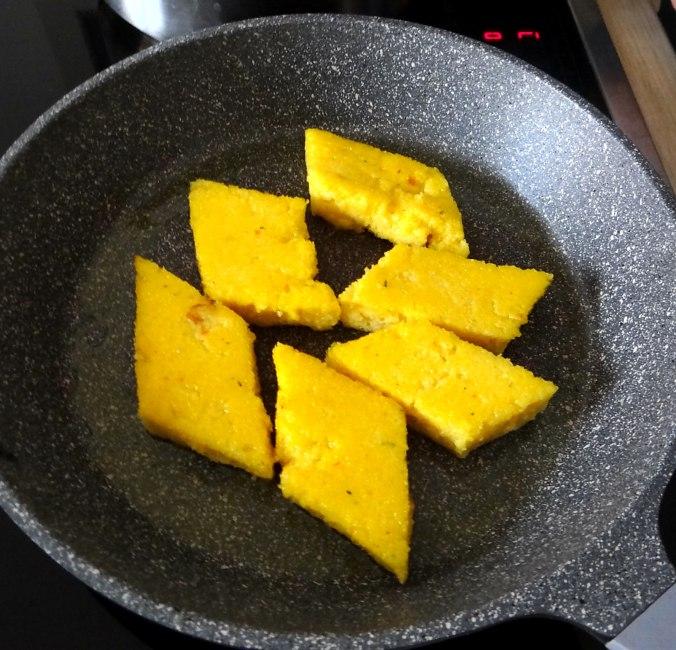 Mairübchen,Polenta,Quarkspeise,vegetarisch (13)