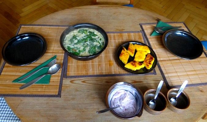 Mairübchen,Polenta,Quarkspeise,vegetarisch (2)