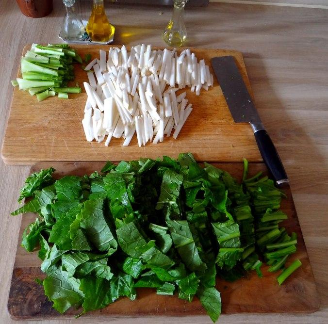Mairübchen,Polenta,Quarkspeise,vegetarisch (7)