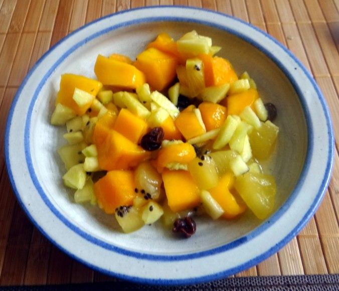 Spargel aus dem Ofen,Pellkartoffeln,Obstsalat (16)