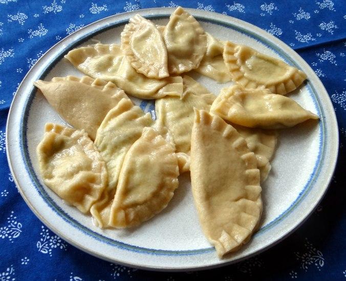 Spargel,Ravioli mit Wildkräuterfüllung (12)